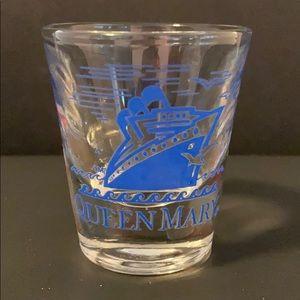 Queen Mary Souvenir Shot Glass